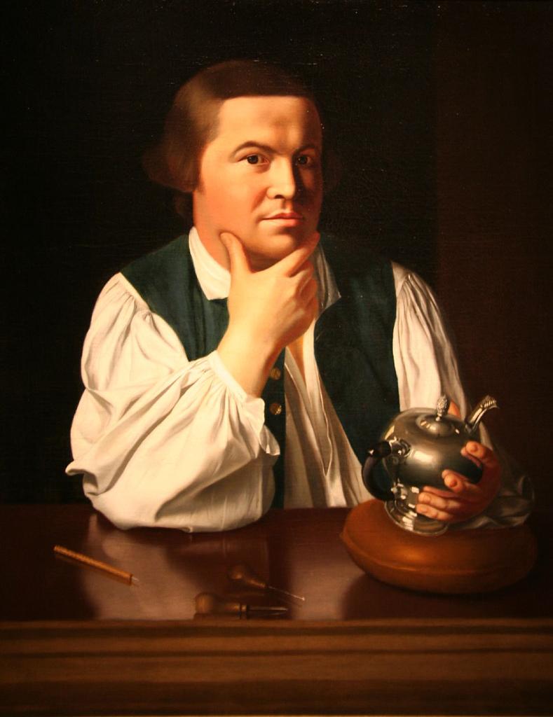 Paul Revere John Singleton Copley